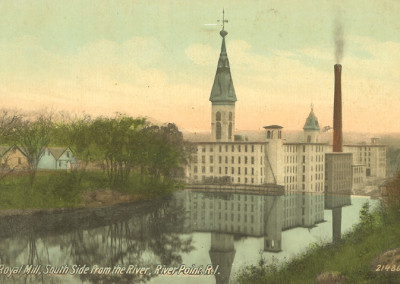 Royal Mills post card